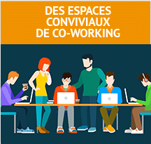 Pictogramme Coworking