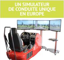 Pictogramme Simulateur de Conduite
